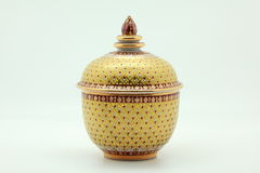 Thai pottery Royalty Free Stock Image