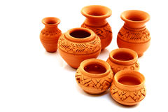 Thai Pottery Stock Photography
