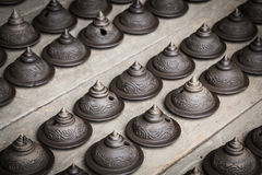 Thai pottery Royalty Free Stock Photo