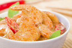 Thai Prawn Curry Stock Photography