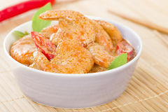 Thai Prawn Curry Royalty Free Stock Photos