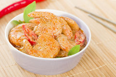 Thai Prawn Curry Royalty Free Stock Photography