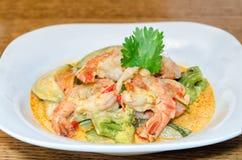 Thai Prawn Curry Stock Photos