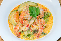 Thai Prawn Curry Stock Images