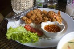 Thai prawns Royalty Free Stock Photo
