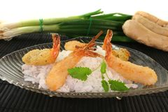 Thai prawns specialties Royalty Free Stock Image