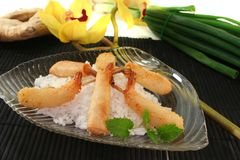 Thai prawns specialties Royalty Free Stock Images