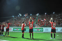 Thai Premier League 2011 Stock Photos