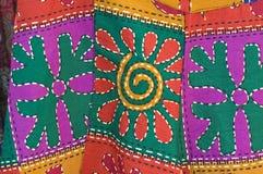Thai printing cloth Stock Photography