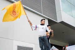 Thai Protesters against amnesty bill Royalty Free Stock Photography