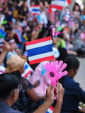 Thai Protesters Royalty Free Stock Images