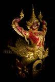 Thai prow royal ship Stock Images
