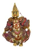 Thai Puppet. Intricately made puppet used in puppet shows in Thailand Royalty Free Stock Images