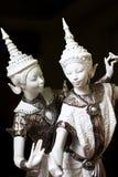 Thai Puppet. White Nang Rum Thai dolls Royalty Free Stock Image