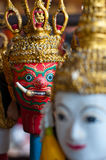 Thai puppet Royalty Free Stock Image