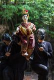 Thai puppet show Royalty Free Stock Image