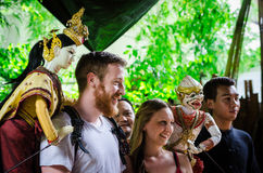 Thai Puppet show Stock Image