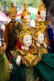 Thai puppet Royalty Free Stock Photos