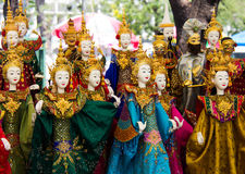 Thai puppet Royalty Free Stock Photography