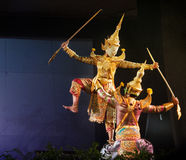 Thai puppet theater Stock Photography