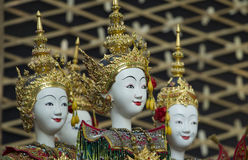 Thai Puppetry Royalty Free Stock Photography