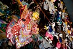 Thai puppets Stock Photo