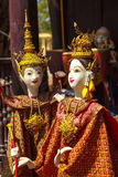 Thai Puppets. Beauty and Gentleness of Thai Puppet Stock Images