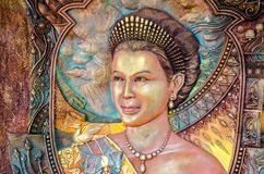 Thai Queen portrait Stock Photo
