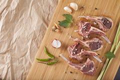 Thai Rack of lamb Stock Images