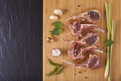 Thai Rack of lamb Stock Photography