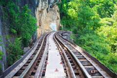 Thai railway Royalty Free Stock Photo