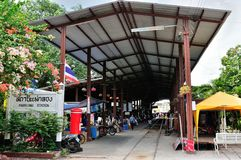 Thai Railway Station Stock Images