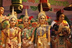 Thai Ramayana Stock Photography
