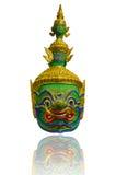 Thai Ramayana Head Dolls Royalty Free Stock Photos