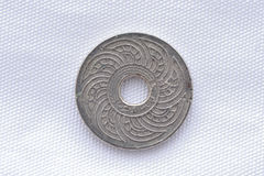 Thai rare old coin Stock Images