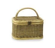 Thai rattan basket Stock Images