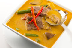 Thai Red Curry With Beef Royalty Free Stock Image