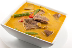 Thai Red Curry With Beef Royalty Free Stock Photo