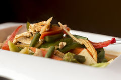 Thai Red Curry Chicken Royalty Free Stock Photography