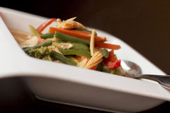 Thai Red Curry Chicken Stock Images