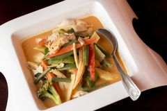 Thai Red Curry Chicken Stock Photos