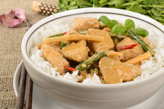 Thai Red Curry Stock Photo