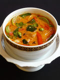 Thai red curry with pork Royalty Free Stock Image