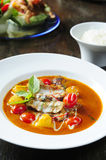 Thai red duck curry Stock Photos
