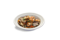 Thai red duck curry. royalty free stock image