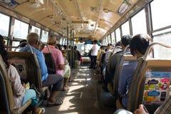 Thai regular bus Stock Photos