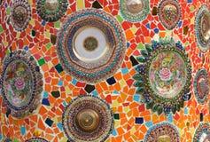 Thai religious ceramic Royalty Free Stock Photos