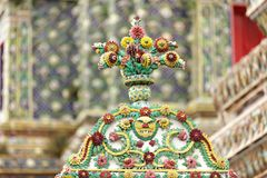 Thai religious ceramic Stock Images