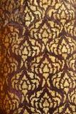 Thai religious pattern Royalty Free Stock Photos