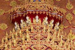 Thai religious pattern Stock Image